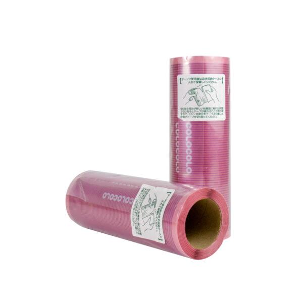 lõi cây lăn bụi sàn nhà cán dài màu hồng