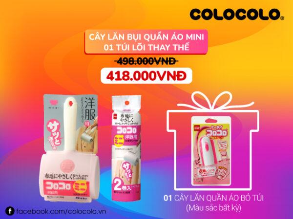 cây lăn bụi ColoColo sắp ra mắt tại AEON Hải Phòng