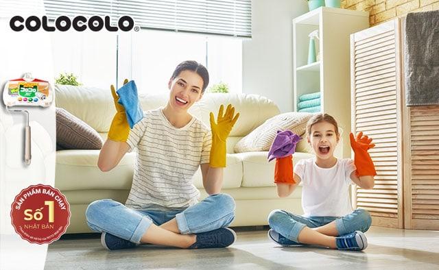 dạy con làm việc nhà