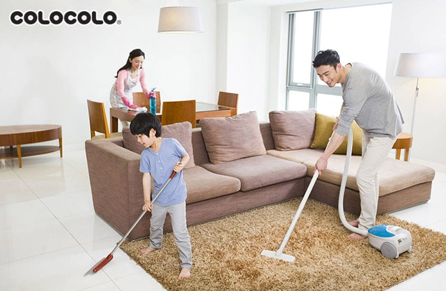 dọn dẹp nhà kiểu nhật