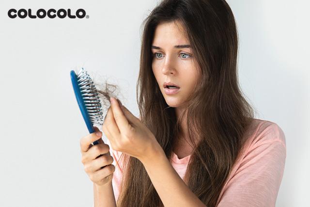 stress rụng tóc