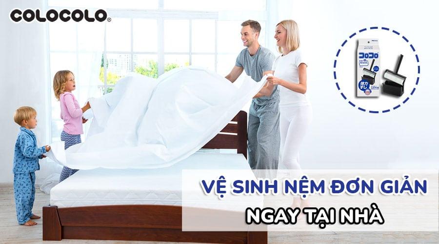 vệ sinh nệm