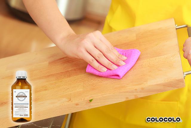 làm sạch đồ gỗ