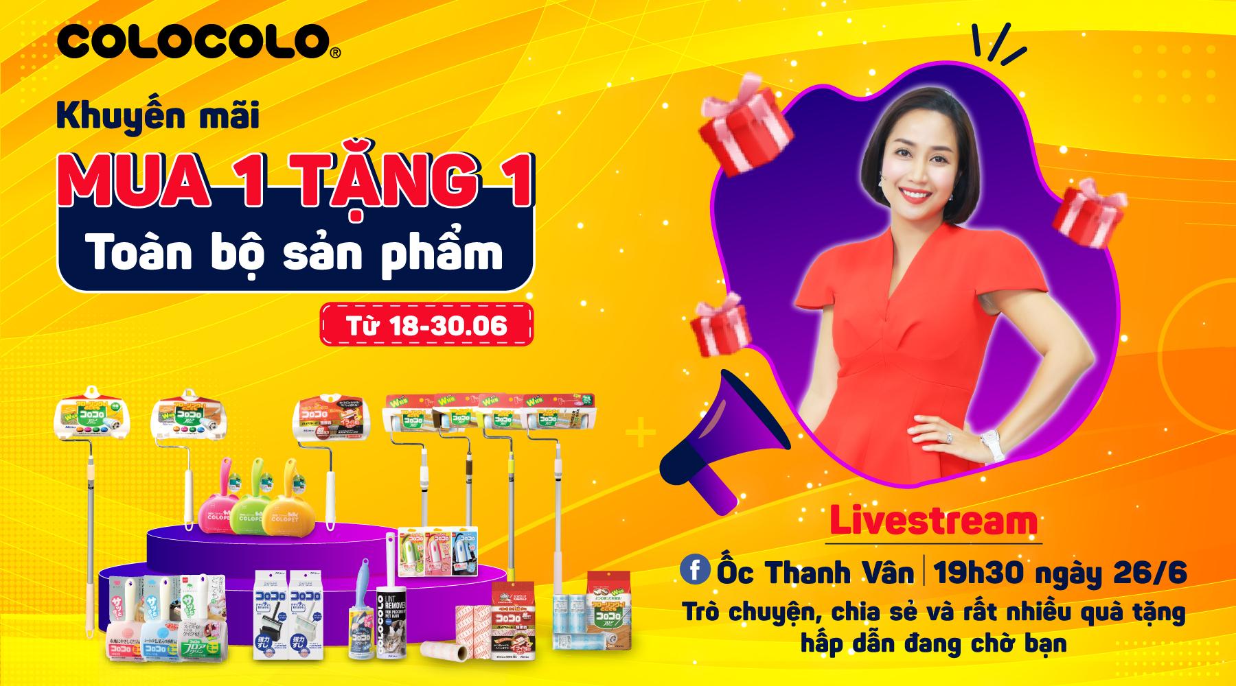 livestream cùng Ốc Thanh Vân